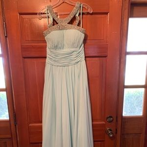 Icy blue formal